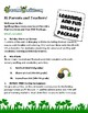 St. Patrick's Day Spelling & Vocabulary & Games 3 Levels Online & Printable