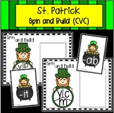 St. Patrick's Day Spin and Build Onset and Rime (CVC)