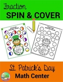St. Patrick's Day ☘ Spin and Cover Fractions
