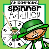 St Patrick's Day Addition Game First Grade