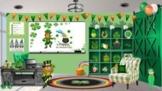 St. Patrick's Day /St. Paddy's Day Bitmoji Virtual Classro