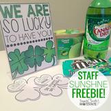 St. Patrick's Day {Staff Sunshine}