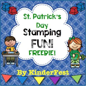 St. Patrick's Day Stamping FUN! FREEBIE!