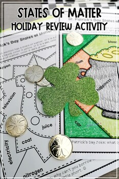 St. Patrick's Day States of Matter Review Activity