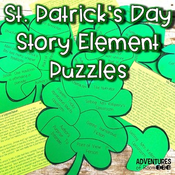 St. Patrick's Day Story Element Puzzles