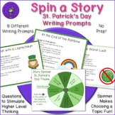 St. Patrick's Day Spin A Story - Writing Prompts Discussio