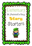 St. Patrick's Day Story Starters for Elementary