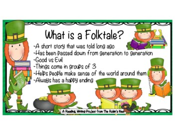 St. Patrick's Day Story w/Reading comprehension questions & a Reader's Theater