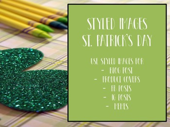 St. Patrick's Day Styled Images for  Personal & Commercial Use