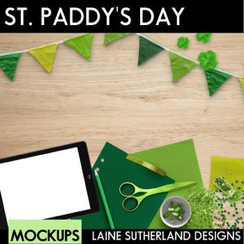 St Patrick's Day Styled Mockups {Desk Scenes}