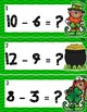 St. Patrick's Day Math: Subtraction Write the Room!