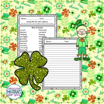 St. Patrick's Day Suffix Practice
