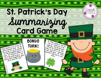 St. Patrick's Day Summarizing