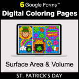 St. Patrick's Day: Surface Area and Volume - Digital Color