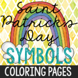 Saint Patrick's Day Symbols Coloring Pages, Craft, Holiday Activities, History