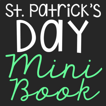 St. Patrick's Day Mini Book, Holiday Symbols, Flip Book, Craft, History