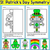St. Patrick's Day Math Symmetry Activity
