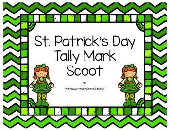 St. Patrick's Day Tally Mark Scoot