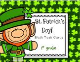St. Patrick's Day Task Cards (1st grade)