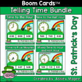 St. Patrick's Day Telling Time Boom Card Bundle - Time to