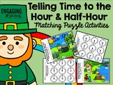 St. Patrick's Day Telling Time to the Hour and Half-Hour M