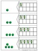 St. Patrick's Day Math Center Ten Frame Number Numeral Tal