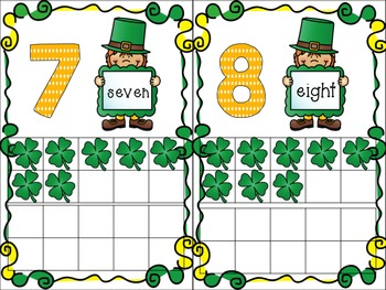 St Patrick's Day Ten Frames