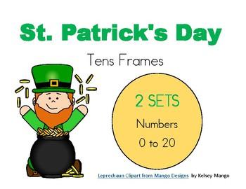 St Patrick's Day - Ten Frames