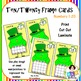St. Patrick's Day Ten/Twenty Frame Wipe It Number Cards