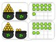 St. Patrick's Day Tens Frame Matching Game- Prints in color and black & white