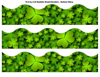 St Patricks Day Theme - Bulletin Borders, Editable Name Tags, and Poster