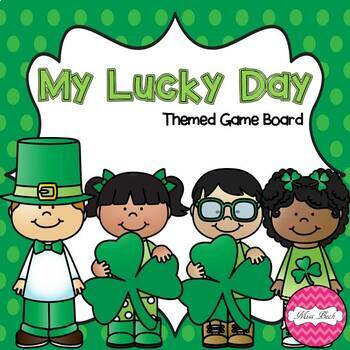 St. Patrick's Day Theme Game Board