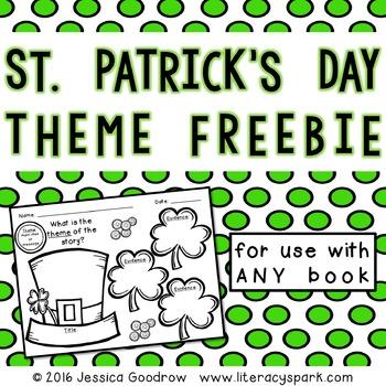 St. Patrick's Day Theme Graphic Organizer