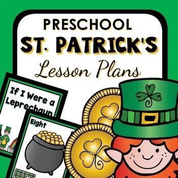 St. Patrick's Day Theme Preschool Lesson Plans -St. Patrick's Day Activities