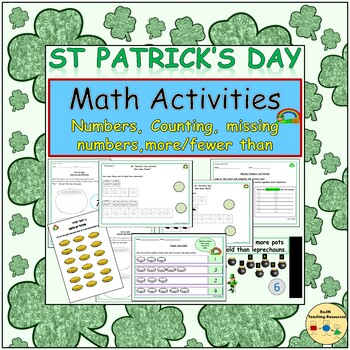 St Patrick's Day Theme: Presentation, Worksheets/Activitie
