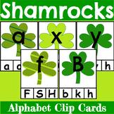 St. Patrick's Day Themed Alphabet Clip Cards