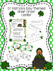 St. Patrick's Day Themed  Call Number and Shelf Order Center Bundle