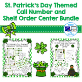 St. Patrick's Day Themed  Call Number and Shelf Order Cent