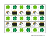 St. Patrick's Day Themed Cutting Strips