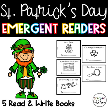 St. Patrick's Day Emergent Readers {Set of 5}