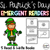 St. Patrick's Day Emergent Readers {Set of 5 Read and Write Books}