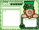 St. Patrick's Day Themed Morning Message & To Do Lists with Timers