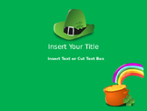 St. Patrick's Day Themed PPT Game Multiple Choice Template