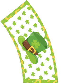 St. Patrick's Day Themed Pillow Boxes and Cup Sleeves