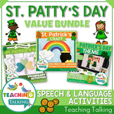 St. Patrick's Day Speech Therapy Activities Value Bundle