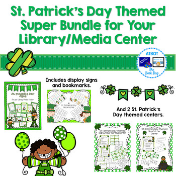St. Patrick's Day Themed Super Bundle for Your Library/Media Center