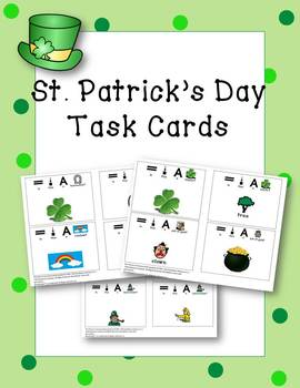 St. Patrick's Day Themed Task Cards (Yes/No Cards)