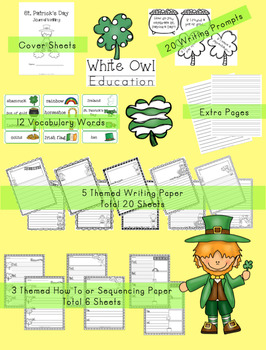 St. Patrick's Day Themed Writing Paper