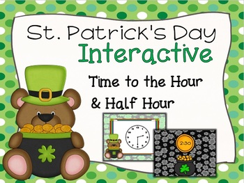 St. Patrick's Day Time to the Hour and Half Hour Game