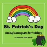 St. Patrick's Day Toddler Lesson Plan